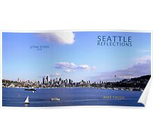 Seattle Reflections Poster