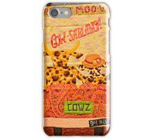 MOO VIE iPhone Case/Skin