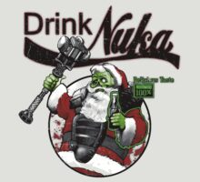 Fallout 3 Spoof Drink Cold and Refreshing Nuka by jimiyo