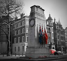 The Cenotaph - London by Mel Harrison