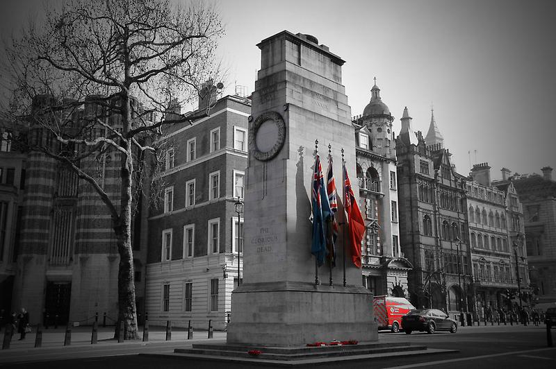 The Cenotaph - London by Mel Harrison