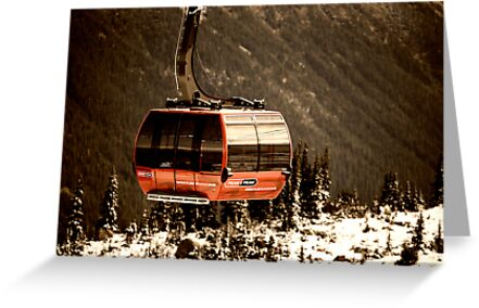 Peak to Peak Gondola - Whistler, BC by Yannik Hay