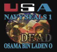 Osama Bin Laden is Dead by woodywhip