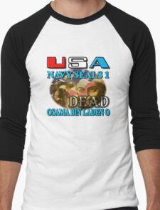 Osama Bin Laden is Dead Men's Baseball ¾ T-Shirt