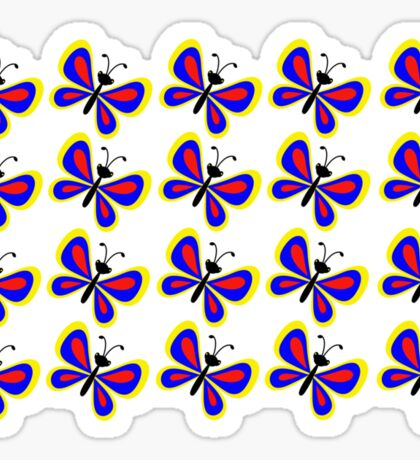 Butterflies (multiple) Sticker