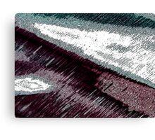 Street Impression Canvas Print