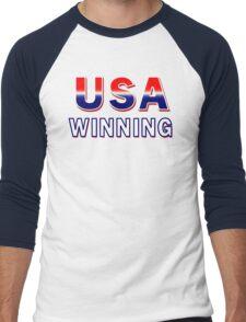 USA Winning Men's Baseball ¾ T-Shirt