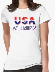 USA Winning Womens Fitted T-Shirt