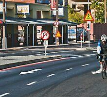 Urban rider by awefaul