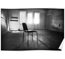 Room with a chair Poster