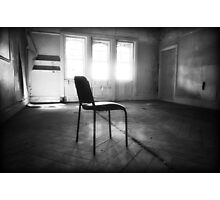 Room with a chair Photographic Print