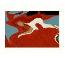 On Wings of Fire Art Print