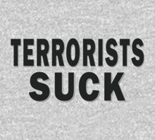 Terrorists Suck by Marcia Rubin