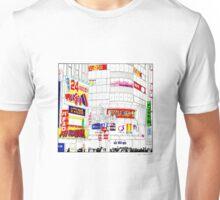 Tokyo lights Unisex T-Shirt