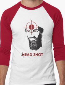Head Shot ver. 2 Men's Baseball ¾ T-Shirt