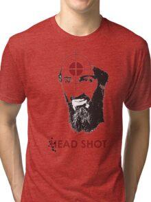 Head Shot ver. 2 Tri-blend T-Shirt