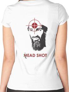 Head Shot ver. 2 (Hoodie) Women's Fitted Scoop T-Shirt