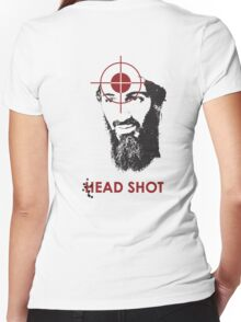 Head Shot ver. 2 (Hoodie) Women's Fitted V-Neck T-Shirt