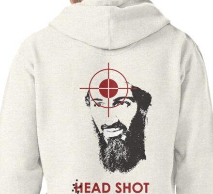 Head Shot ver. 2 (Hoodie) Pullover Hoodie