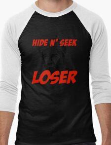 Osama Bin Laden Hide N' Seek Loser Men's Baseball ¾ T-Shirt