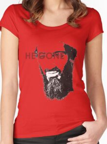 He Gone Women's Fitted Scoop T-Shirt
