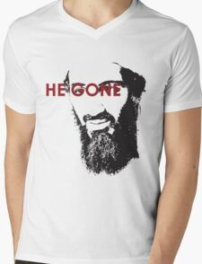 He Gone Mens V-Neck T-Shirt