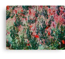 Oriental Brush Work Canvas Print