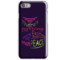 Exciting PEACE iPhone Case/Skin