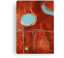 """Masai"" Original acrylic painting Canvas Print"