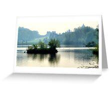 The Mist & The Island ~ Castle Howard Greeting Card
