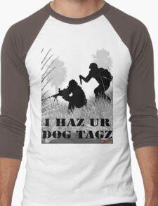 I Haz Ur Dogtagz  Men's Baseball ¾ T-Shirt