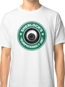 Sherlock's Coffee - Surprisingly OK! Classic T-Shirt