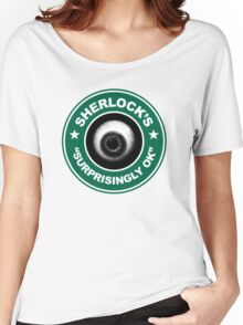 Sherlock's Coffee - Surprisingly OK! Women's Relaxed Fit T-Shirt