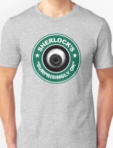 Sherlock's Coffee - Surprisingly OK! Unisex T-Shirt