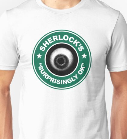 Sherlock's Coffee - Surprisingly OK! Unisex T-Shirt