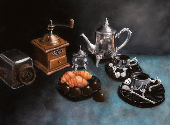 Coffee Still Life by Robert O'Neill