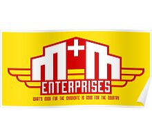 M&M Enterprises (Wings) Poster