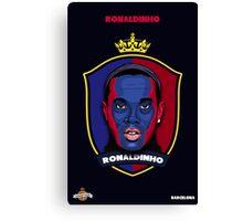 Ronaldinho Canvas Print