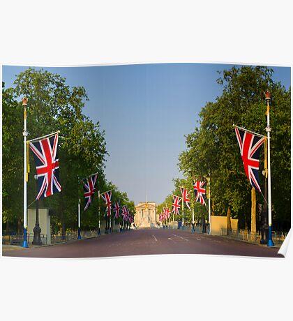 UK, England, London, Buckingham Palace, Royal Wedding Poster