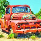Shot-Up Ford Truck by WTBird