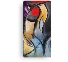 """Femme"" Original acrylic painting Canvas Print"