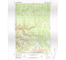 USGS Topo Map Oregon Howard Butte 280256 1964 24000 Poster
