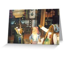 Lord & Taylor Holiday Windows, New York Greeting Card