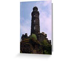 Nelson's Monument, Edinburgh Greeting Card