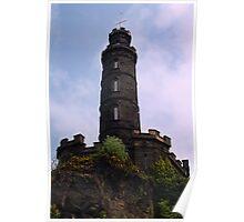 Nelson's Monument, Edinburgh Poster