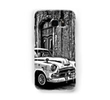 Vintage Car Graphic Novel Style Samsung Galaxy Case/Skin