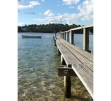 Peaceful Jetty Photographic Print