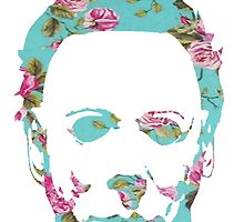 Halloween Floral Michael Myers by SailorMeg