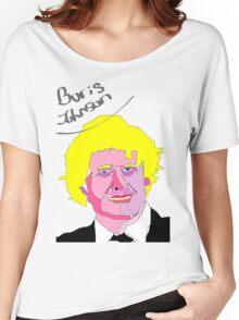 Boris Johnson Women's Relaxed Fit T-Shirt