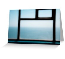 the sea and the sky [2] Greeting Card